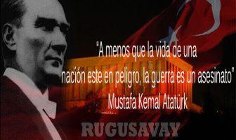 Frases de Mustafa Kemal Atatürk