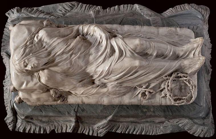El Cristo Velado Giuseppe Sanmartino, 1753