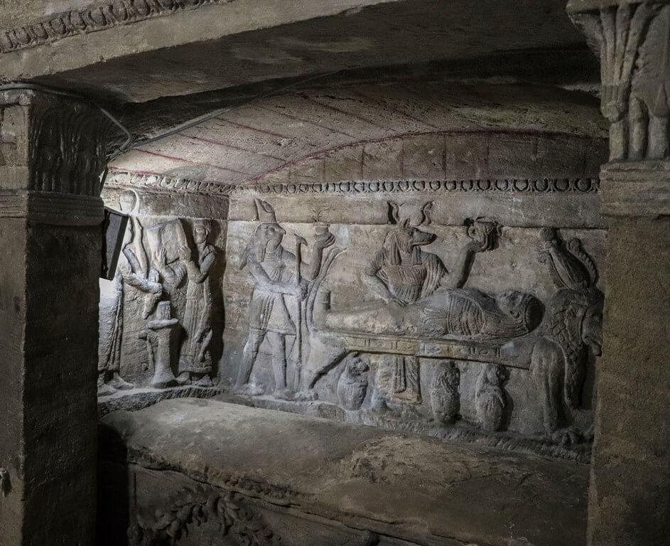 Catacumbas de Kom el Shoqafa