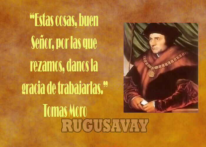 Frases de Tomás Moro