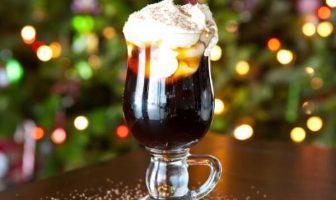 Cóctel de café de Navidad