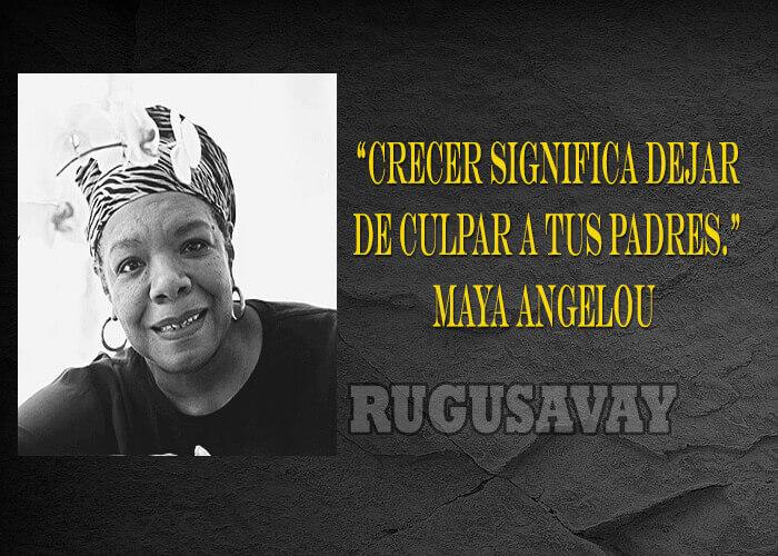 Frases De Maya Angelou Poeta Y Cantante Estadounidense
