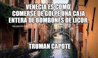 Frases de Venecia
