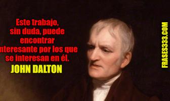 Frases de John Dalton