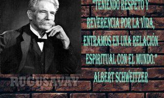 Frases de Albert Schweitzer