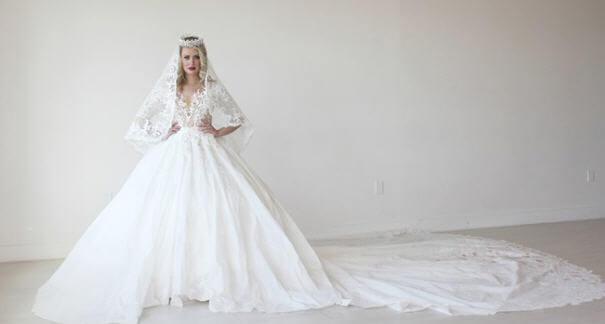 significado de soñar con vestido de novia