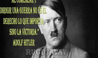 Frases de Adolf Hitler