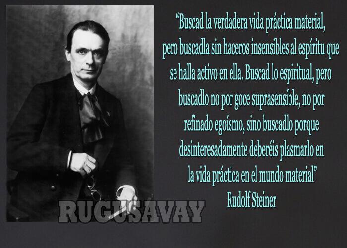 Frases de Rudolf Steiner