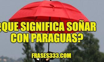 Significado de Soñar con Paraguas