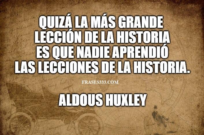 Frases Sobre La Historia