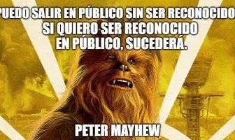 Frases de Peter Mayhew