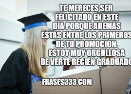 Deseos de Graduacion Para una Hija