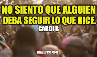 Frases de Cardi B
