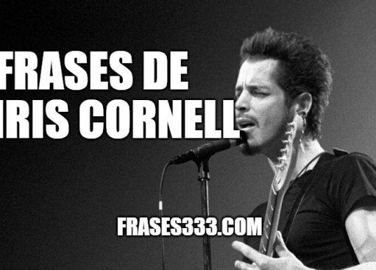 Frases de Chris Cornell – Músico y vocalista estadounidense