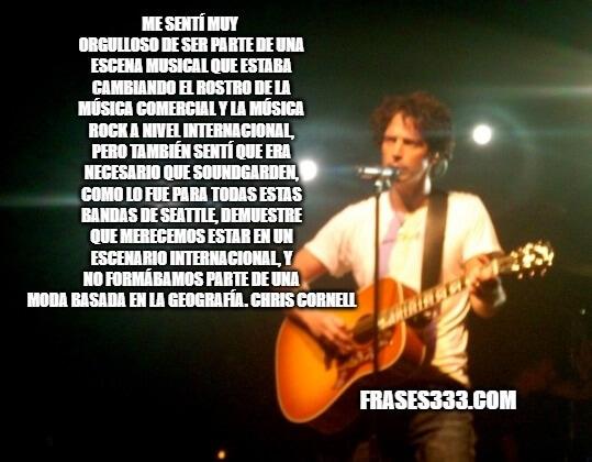 Frases de Chris Cornell