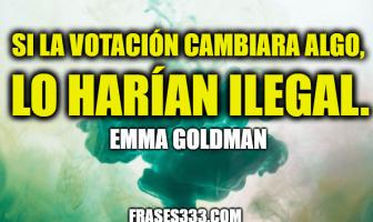 Frases de Emma Goldman
