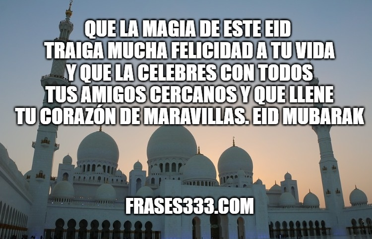 Feliz Eid al Fitr