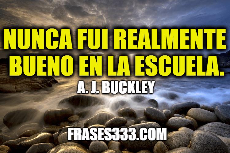 Frases de A. J. Buckley