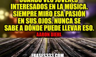 Frases de Aaron Diehl