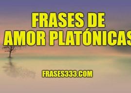 Frases de Amor Platonicas – El término amor platónico lleva el nombre…