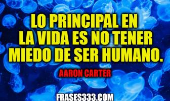 Frases de Aaron Carter