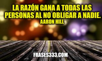 Frases de Aaron Hill