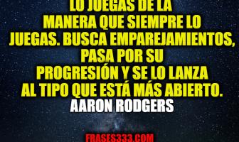 Frases de Aaron Rodgers