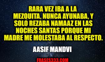 Frases de Aasif Mandvi