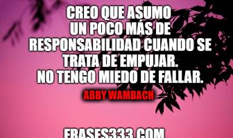 Frases de Abby Wambach