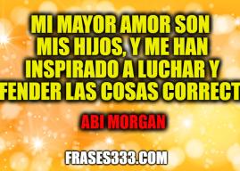 Frases de Abi Morgan