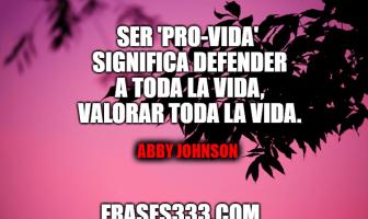 Frases de Abby Johnson