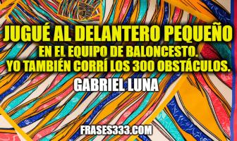Frases de Gabriel Luna