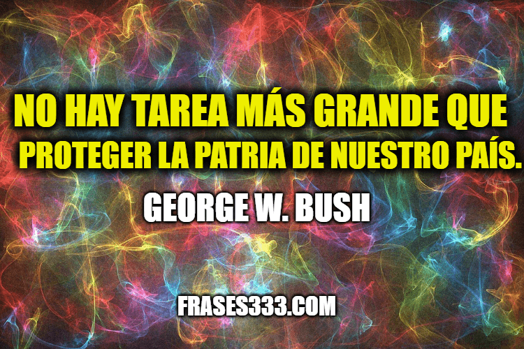 Frases de George W. Bush