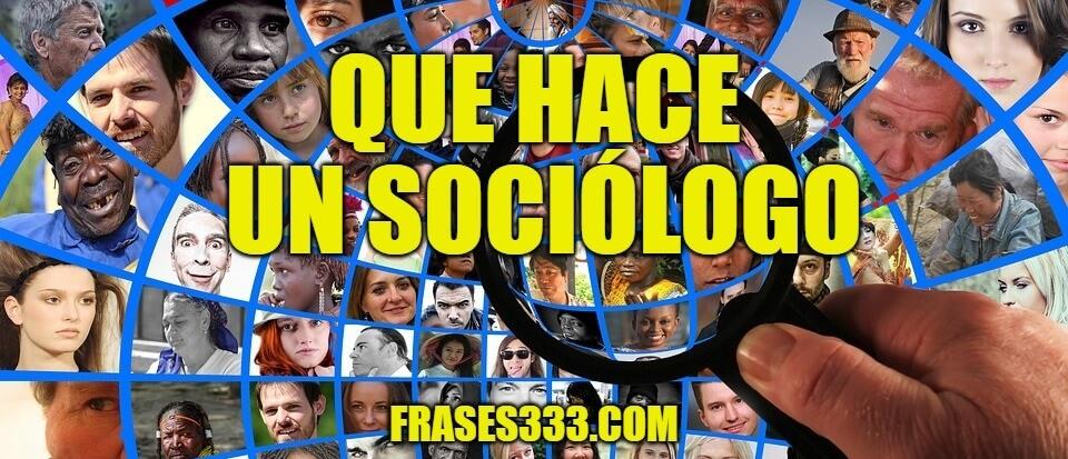 sociologo