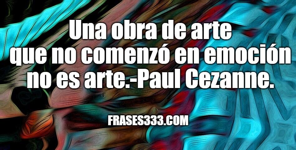 Frases Sobre Arte