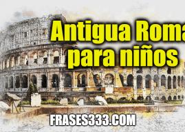 Antigua Roma para niños