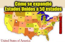 Cómo se expandió Estados Unidos a 50 estados