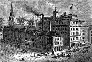 A Factory from the Industrial Revolution 1886 by Arnold Greene