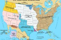 Mapa de expansión de Estados Unidos del Atlas Nacional de los Estados Unidos