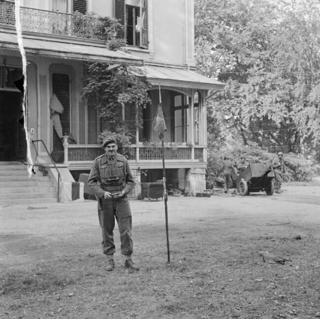 Mayor general Roy Urquhart DSO y Bar.