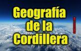 Geografía para niños: geografía de la cordillera
