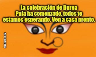 Mensajes de Durgá Puyá (Durga Puja)