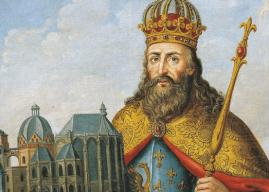 Biografía para niños – Carlomagno – Rey de los francos y sacro emperador