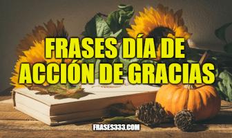 Frases día de Acción de Gracias