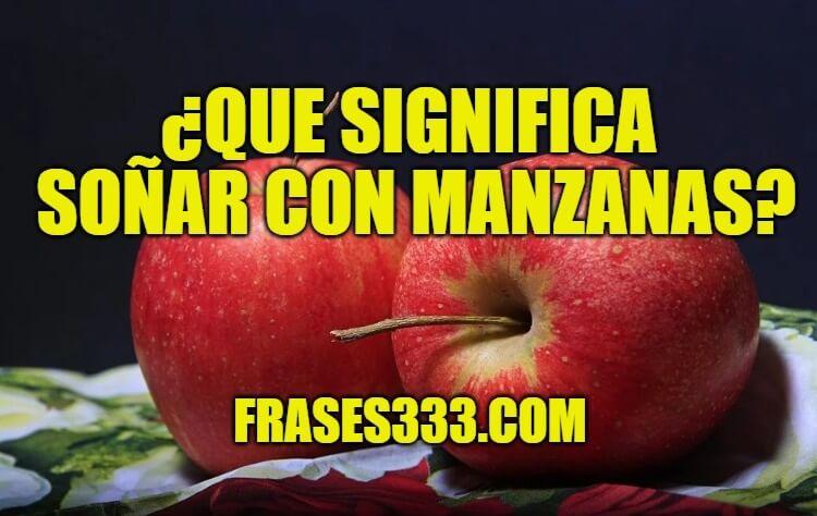 Sonar Con manzanas