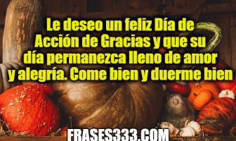 Mensajes de Acción de Gracias