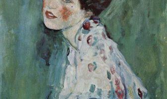 Retrato de una dama de Gustav Klimt. Robado en 1997 y solo ahora recuperado.