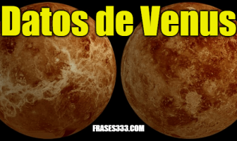 Datos de Venus - Datos interesantes sobre el planeta Venus