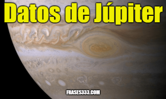 Datos de Júpiter - Datos interesantes sobre el planeta Júpiter