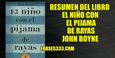 Resumen del Libro el Niño con el Pijama de Rayas – John Boyne